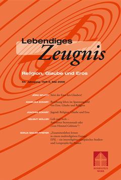 RELIGION, GLAUBE UND EROS - 2009 Heft 2 - 64. Jahrgang