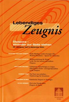 DIASPORA - EINANDER ZUR SEITE STEHEN - 2004 Heft 3 - 59. Jahrgang