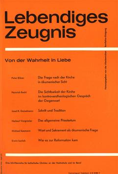 VON DER WAHRHEIT IN LIEBE - 1964 Heft 2/3 - 19. Jahrgang