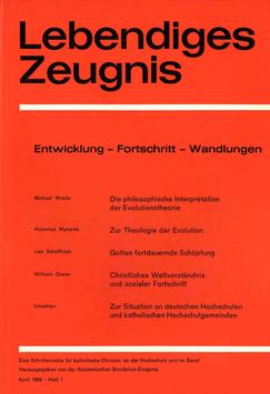ENTWICKLUNG – FORTSCHRITT – WANDLUNGEN - 1968 Heft 1 - 23. Jahrgang