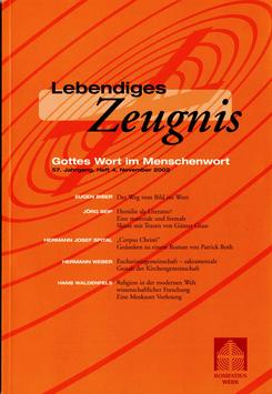 GOTTES WORT IM MENSCHENWORT - 2002 Heft 4 - 57. Jahrgang
