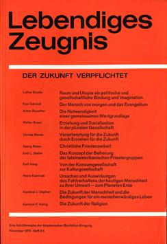 DER ZUKUNFT VERPFLICHTET - 1974 Heft 3/4 - 29. Jahrgang
