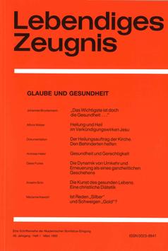 GLAUBE UND GESUNDHEIT - 1993 Heft 1 - 48. Jahrgang