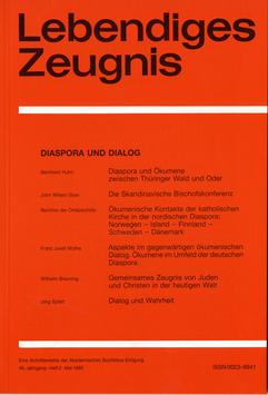 DIASPORA UND DIALOG  - 1985 Heft 2 - 40. Jahrgang