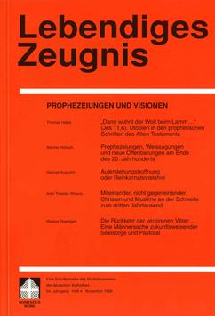 PROPHEZEIUNGEN UND VISIONEN  - 1999 Heft 4 - 54. Jahrgang