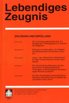 ERLÖSUNG UND ERFÜLLUNG  - 1997 Heft 3 - 52. Jahrgang