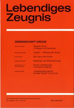 GEMEINSCHAFT KIRCHE- 1987 Heft 2 - 42. Jahrgang