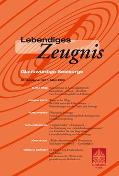 GLAUBWÜRDIGE SEELSORGE  - 2009 Heft 1 - 64. Jahrgang