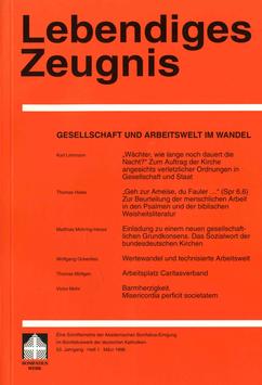 GESELLSCHAFT UND ARBEITSWELT IM WANDEL  - 1998 Heft 1 - 53. Jahrgang