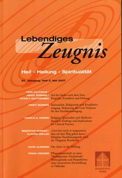 HEIL - HEILUNG - SPIRITUALITÄT 2007 Heft 2 - 62. Jahrgang