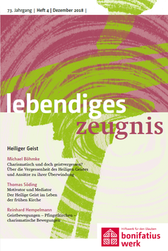 HEILIGER GEIST  - 2018 Heft 4 - 73. Jahrgang