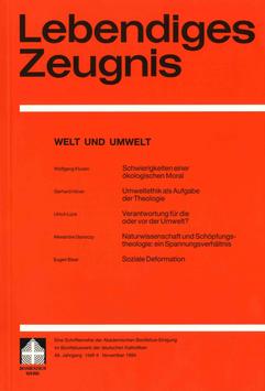 WELT UND UMWELT  - 1994 Heft 4 - 49. Jahrgang