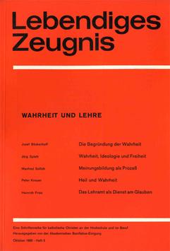 WAHRHEIT UND LEHRE - 1969 Heft 3 - 24. Jahrgang