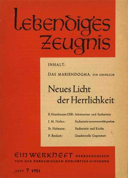 NEUES LICHT DER HERRLICHKEIT - 1951 Heft 1 - 6. Jahrgang