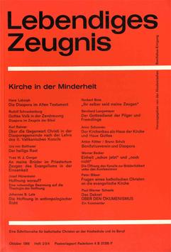 KIRCHE IN DER MINDERHEIT - 1966 Heft 2/3/4- 21. Jahrgang