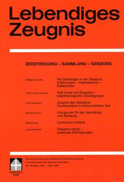 ZERSTREUUNG - SAMMLUNG - SENDUNG  - 1994 Heft 1 - 49. Jahrgang