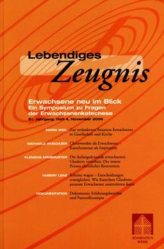 ERWACHSENE NEU IM BLICK  - 2006 Heft 4 - 61. Jahrgang