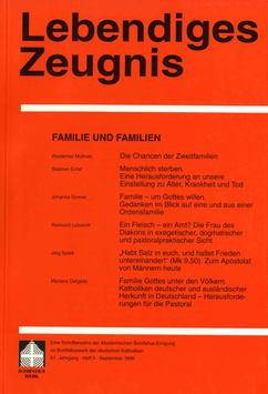 FAMILIE UND FAMILIEN  - 1996 Heft 3 - 51. Jahrgang