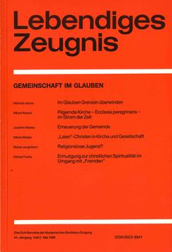 GEMEINSCHAFT IM GLAUBEN - 1989 Heft 2 - 44. Jahrgang