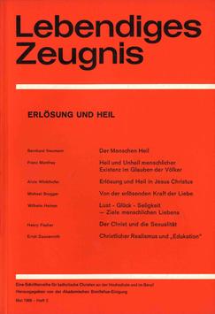ERLÖSUNG UND HEIL - 1969 Heft 2 - 24. Jahrgang