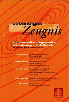 KOMMUNIKATION, ORGANISATION, VERÄNDERUNG UND AUFBRAUCH  - 2005 Heft 4 - 60. Jahrgang