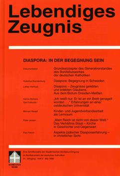 DIASPORA IN DER BEGEGNUNG SEIN - 1996 Heft 2 - 51. Jahrgang