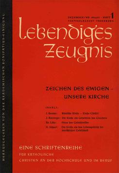 ZEICHEN DES EWIGEN — UNSERE KIRCHE - 1956 Heft 4 - 11. Jahrgang