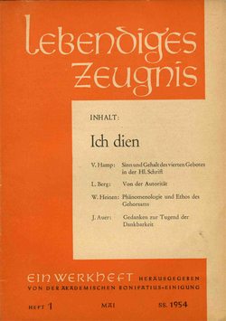 ICH DIEN - 1954 Heft 2 - 9. Jahrgang