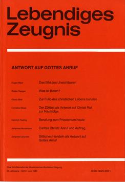 ANTWORT AUF GOTTES ANRUF- 1980 Heft 2 - 35. Jahrgang