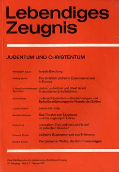 JUDENTUM UND CHRISTENTUM - 1977 Heft 1/2 - 32. Jahrgang