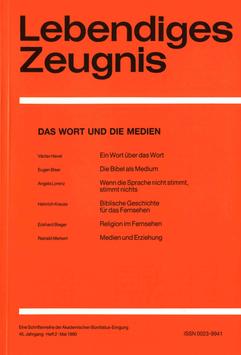 DAS WORT UND DIE MEDIEN- 1990 Heft 2 - 45. Jahrgang