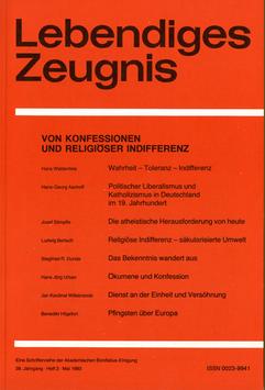 ZEICHEN UND WIRKLICHKEIT - 1983 Heft 3 - 38. Jahrgang