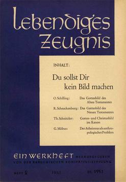 DU SOLLST DIR KEIN BILD MACHEN - 1953 Heft 3 - 8. Jahrgang