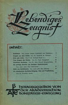 ERSTE AUSGABE - 1946 Heft 1 - 1. Jahrgang
