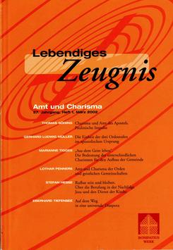 AMT UND CHARISMA  - 2002 Heft 1 - 57. Jahrgang