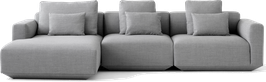 &Tradition Develius Sofa - Configuration E