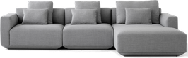 &Tradition Develius Sofa - Configuration F