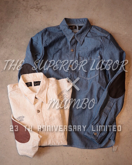 THE  SUPERIOR LABOR × MAMBO work shirts 23th limited