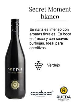SECRETVE / Secret Moment Blanco