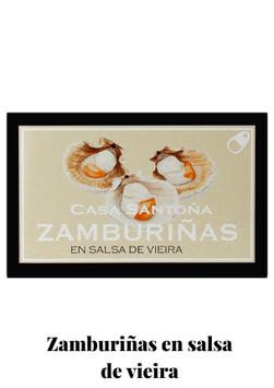 ZA / Zamburiñas en salsa de vieira