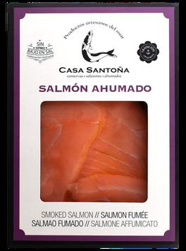 SAH100 /Salmón ahumado bandeja 120 gr
