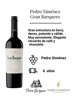 4358 / Pedro Ximénez Gran Barquero
