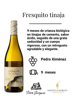 FRESQUITO / Fresquito tinaja