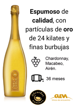 ALCGOLD / Alcardet Brut Gold