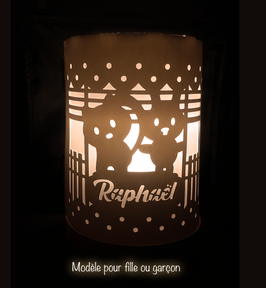 Lampe personalisée - Modèle fille ou garçon