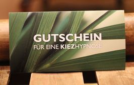 Hypnose Gutschein, Wert: 1000,- €