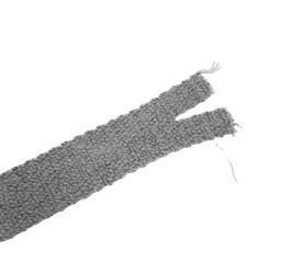 Einfassband - Falztresse, mausgrau meliert