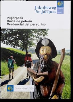 Pilgerpass Jakobsweg / Credentcial del Peregrino