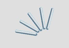 Ersatzstäbchen für Farbmixer, 6 Stück