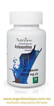 ASTAXANTINA (ANTIOXIDANTE)